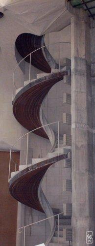 Sagrada Famlia Spiral Staircase Escalier En Spirale De