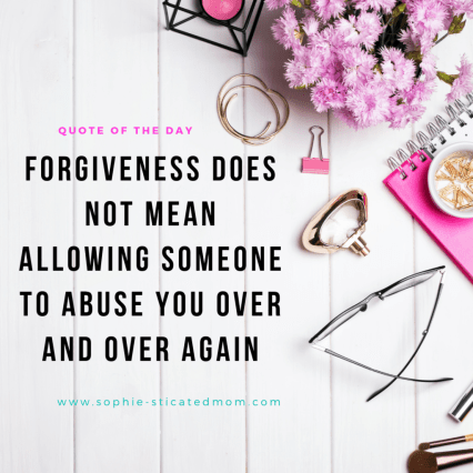 Forgive But Do Not Forget ~ Forgiveness And Reconciliation The Difference