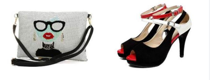 shoes and bags set