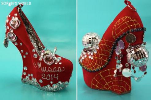 Mardi Gras Shoes 2014 Sophies World