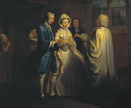 IX: Pamela is Married 1743-4 Joseph Highmore 1692-1780 Purchased 1921 http://www.tate.org.uk/art/work/N03575