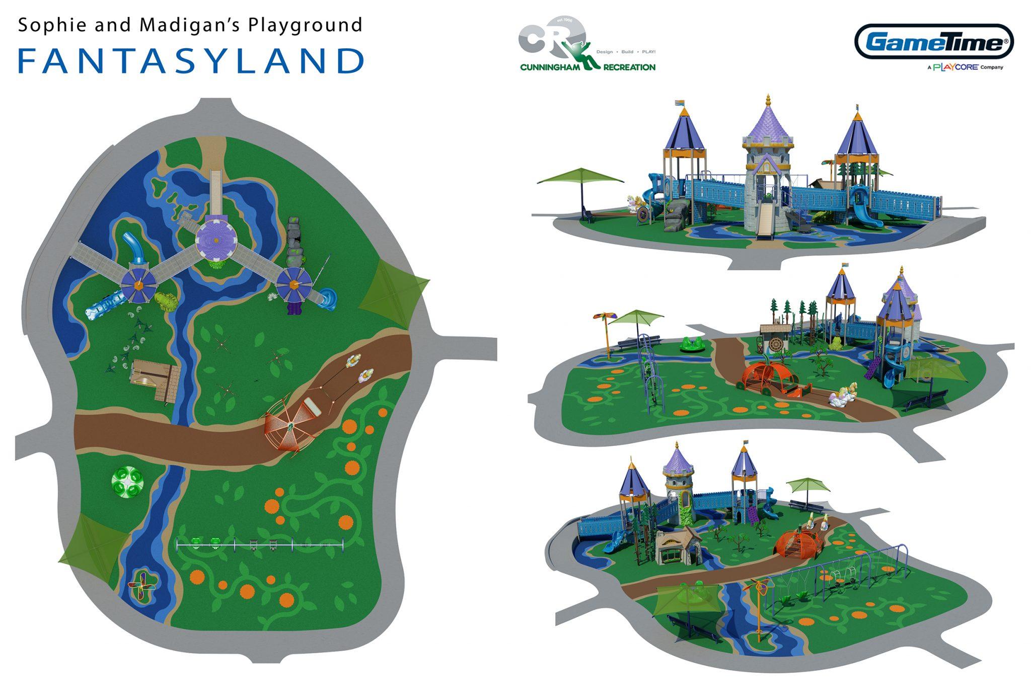 Fantasyland Concept Board