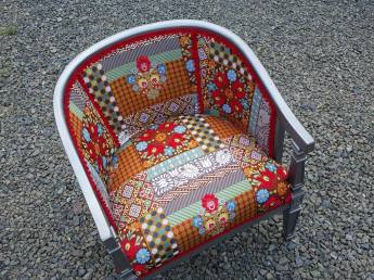 BOHO Chic Barrel chaire