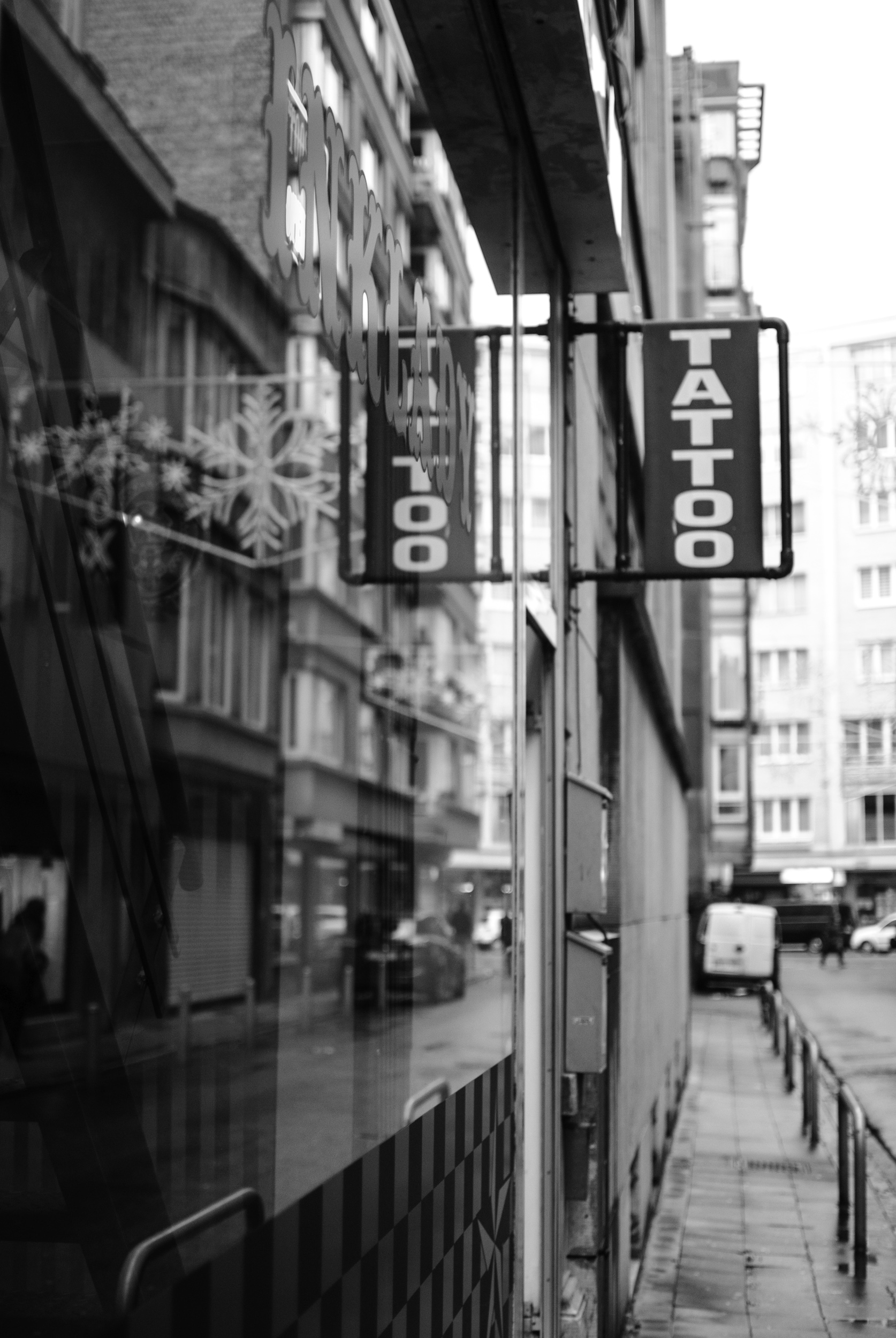 Sophie Bernard Photography - Reportage - Tatoo shop - Ink Lady