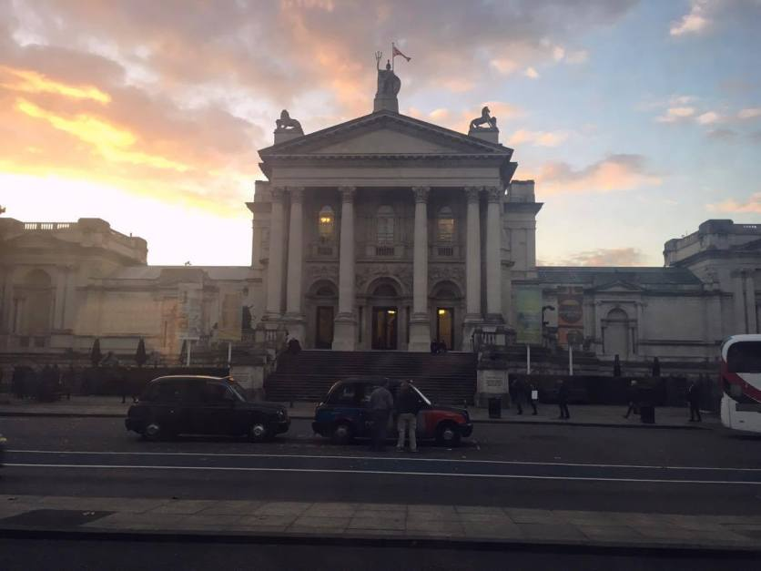View of the Tate Britain