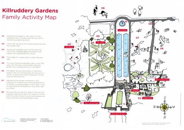 Kilruddery Map Front