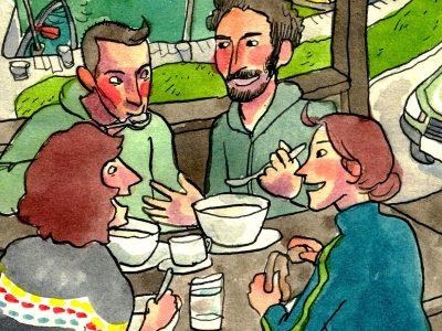 Yeats Hut Comic