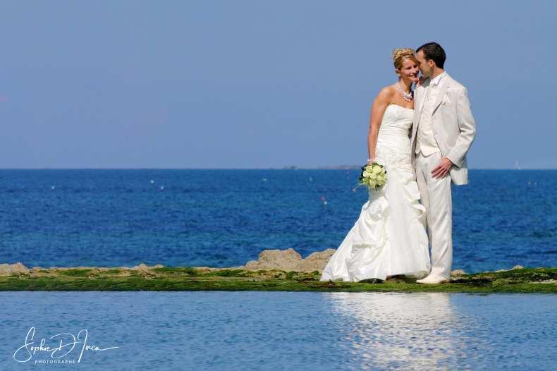 Ils se sont mariés le jour de l'été - Photographie Mariage - Sophie d'Inca - Plage - Mer - Morbihan sud - Côtes d'Armor - Finistère - Ille et Vilaine - vendée
