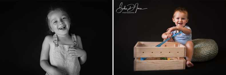 Séance Enfants Studio Sophie D'inca Photographe