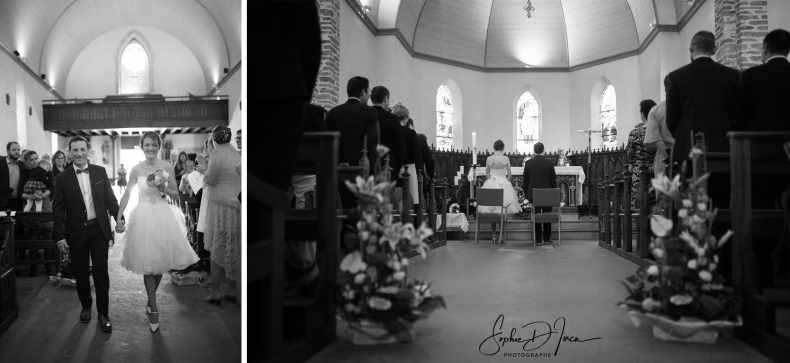 entrée église mariage Morbihan Sophie D'inca Photographe Malestroit 56