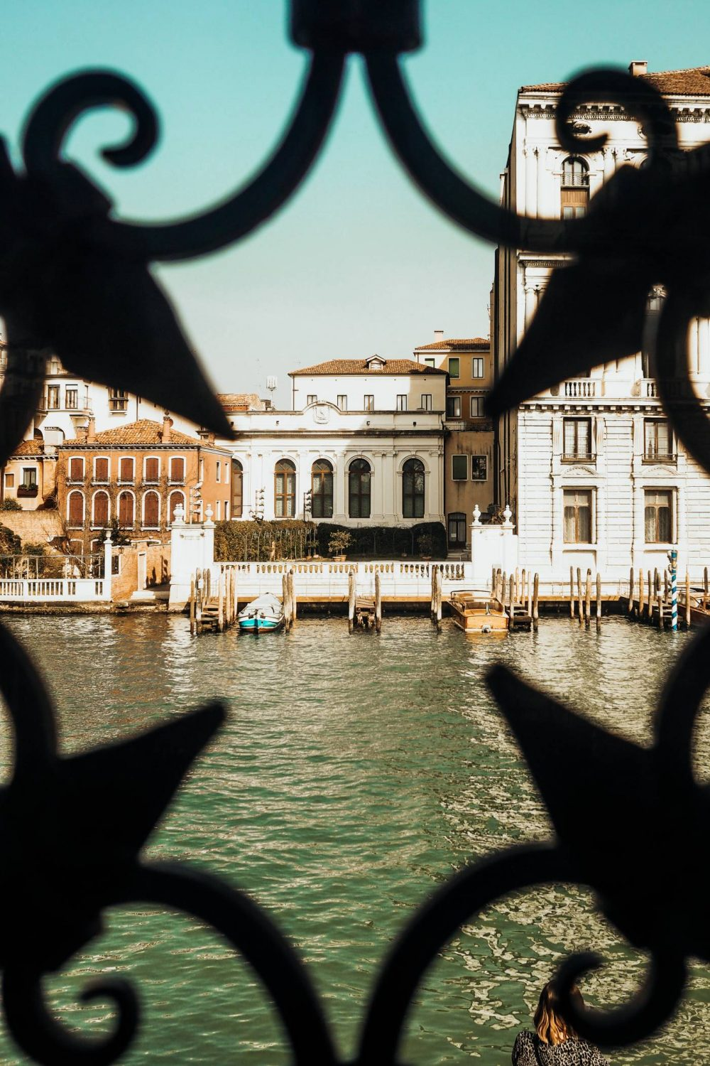 View of the Grand Canal from Peggy Guggenheim Art Gallery