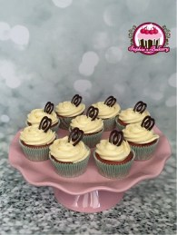 Red Velvet cupcakes met witte chocofrosting