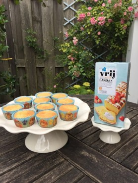 Snelle en eenvoudige glutenvrije cupcakes