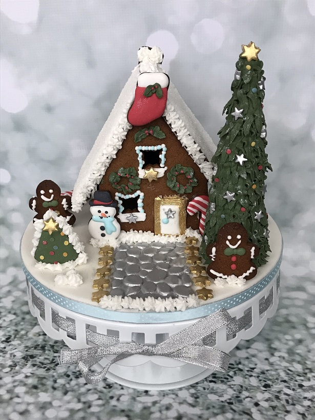 Gingerbread 3d kersthuisje