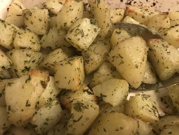 Provençaalse aardappeltjes uit de oven