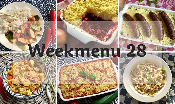 Glutenvrij weekmenu 2019-28