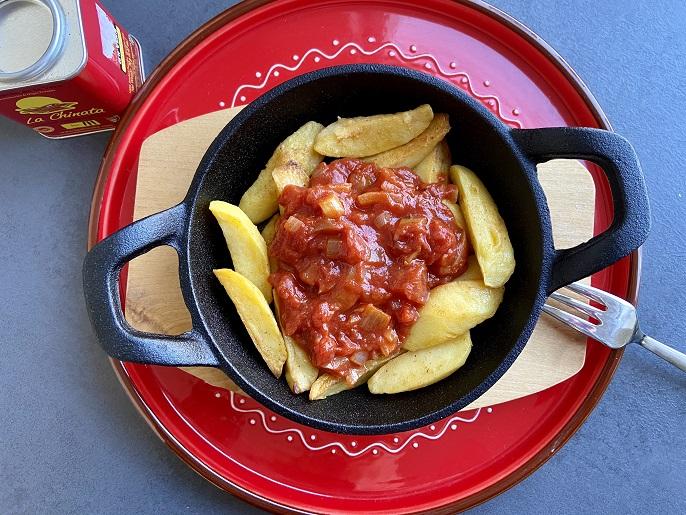 Patatas bravas, heerlijke Spaanse aardappeltjes