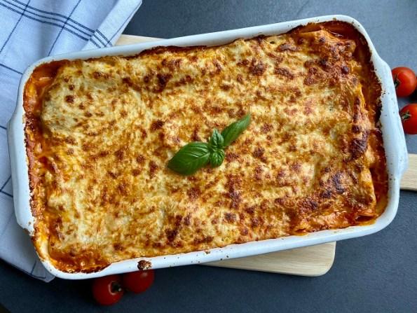Lasagne bolognese glutenvrij