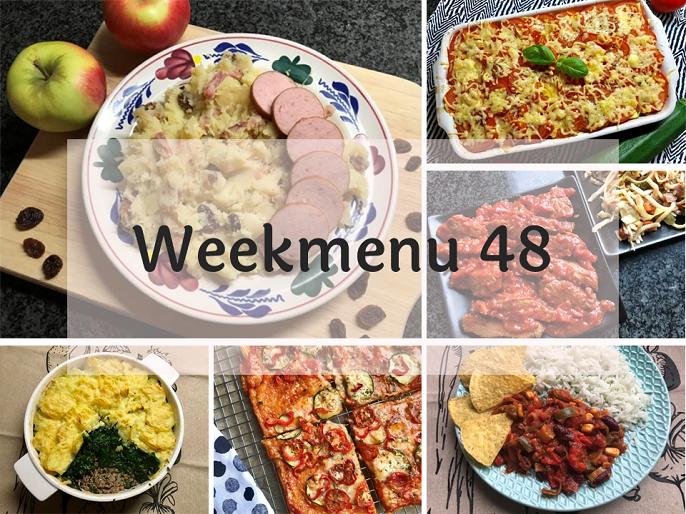Glutenvrij weekmenu 2020-48