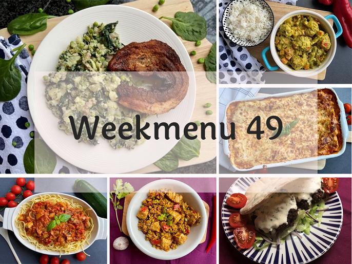Glutenvrij weekmenu 2020-49