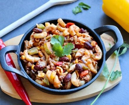 Mexicaanse chili macaroni