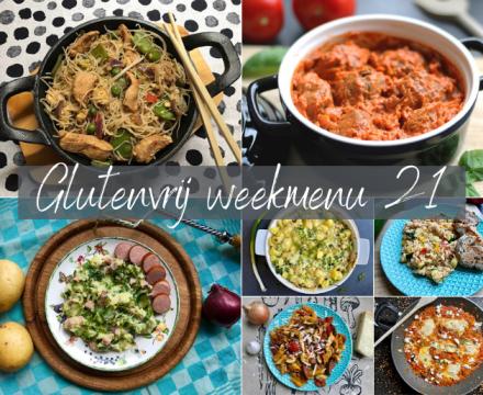 glutenvrij weekmenu 2021-21