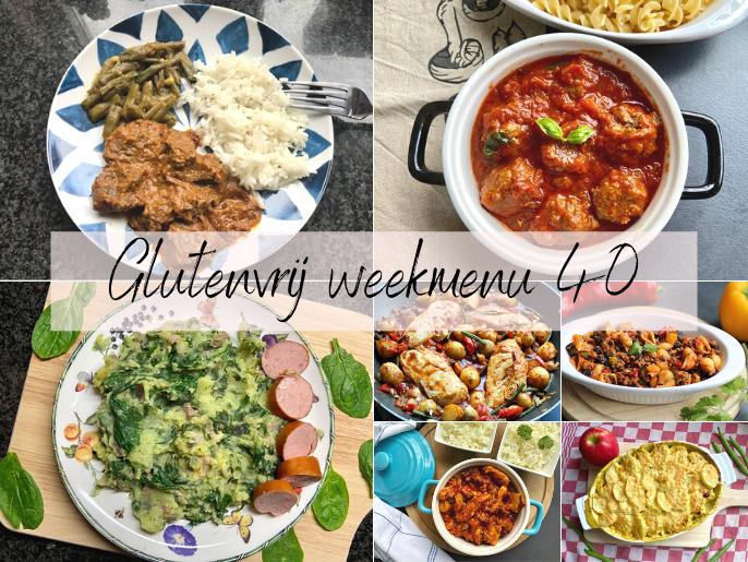 Glutenvrij weekmenu 2021-40