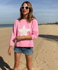 zip sweatshirt lolly pink