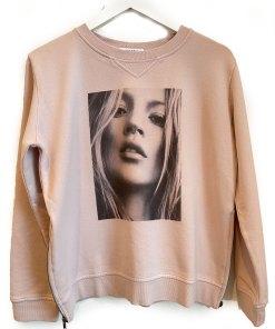 face print sweater