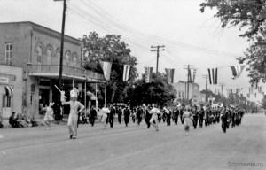 Photo: Comal County Fair Parade, 1946.