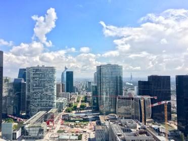 Parigi, vista dalla Grande Arche
