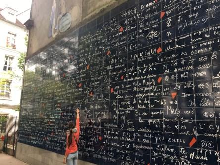 Parigi, Mur des je t'aime