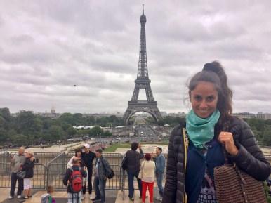 Parigi, vista dal Trocadéro