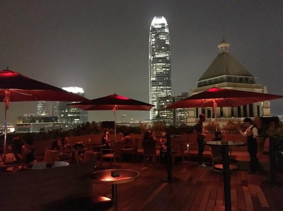 HK, terrazza Cé La Vi