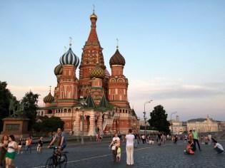 Mosca. San Basilio, Piazza Rossa