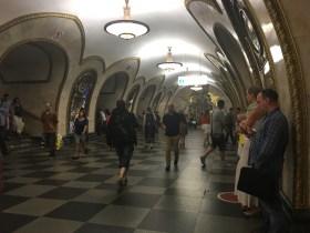 Mosca. La metropolitana
