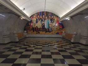 Mosca. La metropolitana d'arte