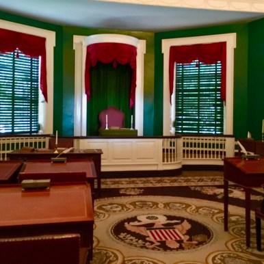 Philly, Independence Hall, interni
