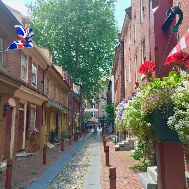 Philly, Society Hill,Elfreth's Alley
