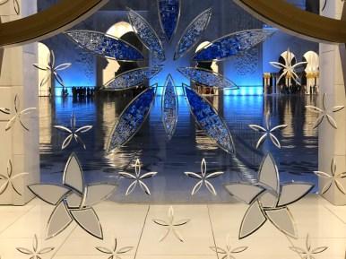 Abu Dhabi, Grande Moschea Sheikh Zayed, particolare
