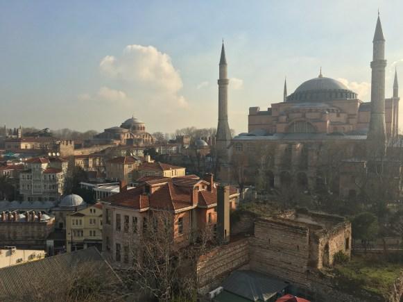 Istanbul, vista sulla Moschea blu