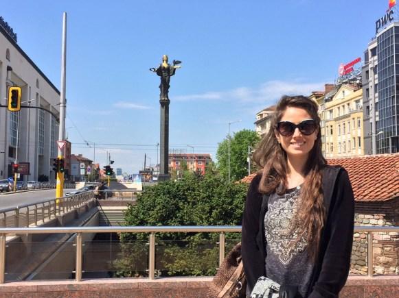 Sofia, Monumento a Santa Sofia