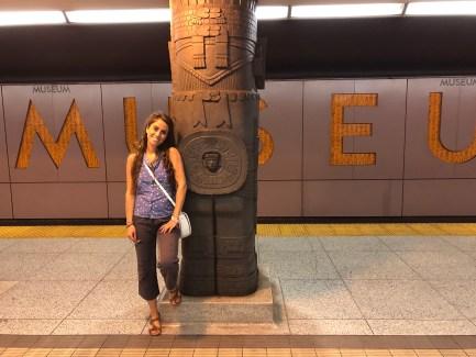 Toronto, fermata metro Museum