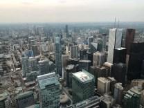 Toronto, vista dalla Cn Tower