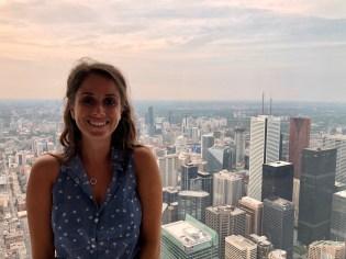 Toronto, in cima alla CN Tower