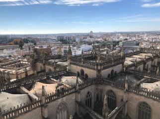 La vista dalla Torre della Giralda