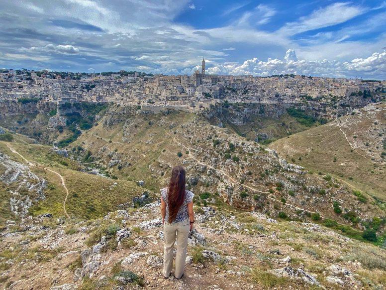 Matera, vista dal Belvedere Murgia Timone