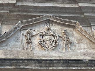Matera, Chiesa del Purgatorio, dettaglio