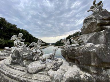 Caserta, fontana di Venere a Adone