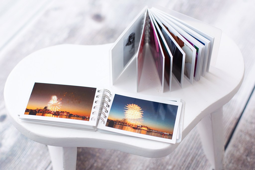 mini photobooks from Social Print Studio